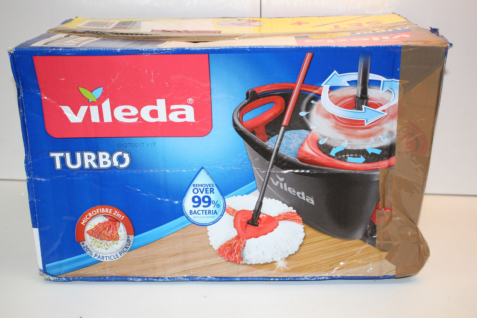 BOXED VILEDA TURBO MOPCondition ReportAppraisal Available on Request- All Items are Unchecked/