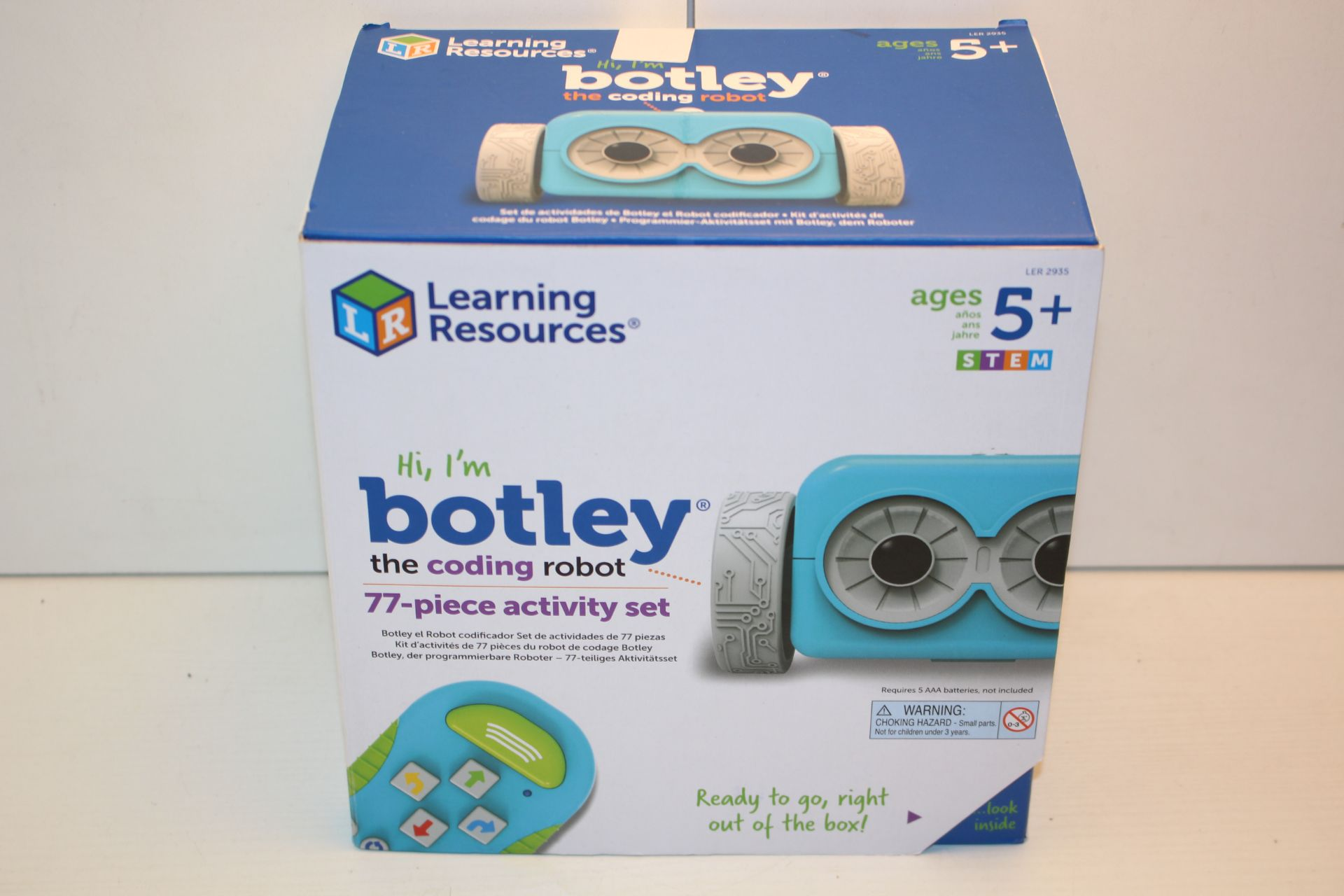 BOXED LEARNING RESOURCES BOTLEY THE CODING ROBOT 77-PIECE ACTIVITY SET RRP £77.99Condition