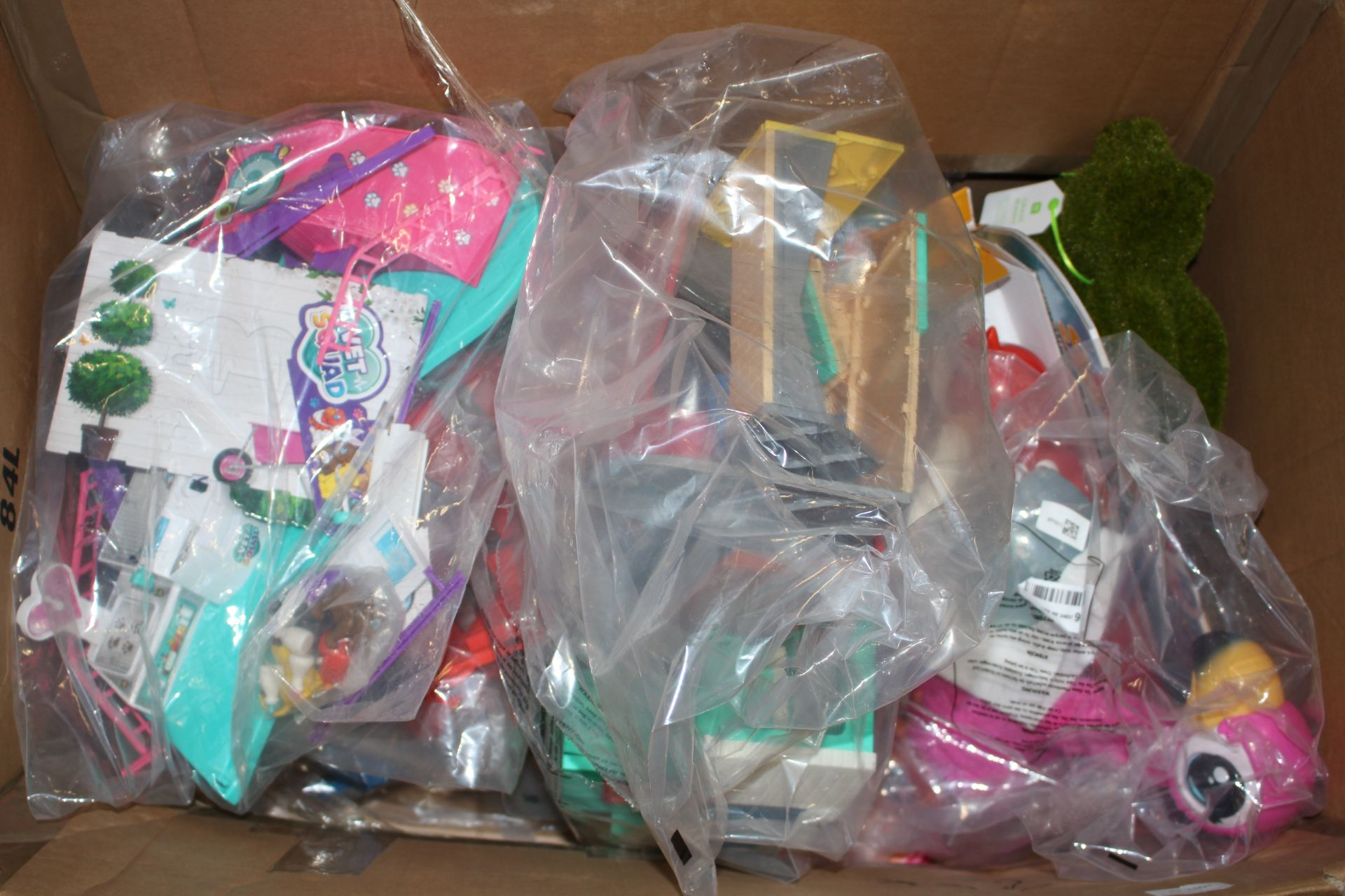LARGE BOX ASSORTED TOYS (IMAGE DEPICTAS STOCK)Condition ReportAppraisal Available on Request- All