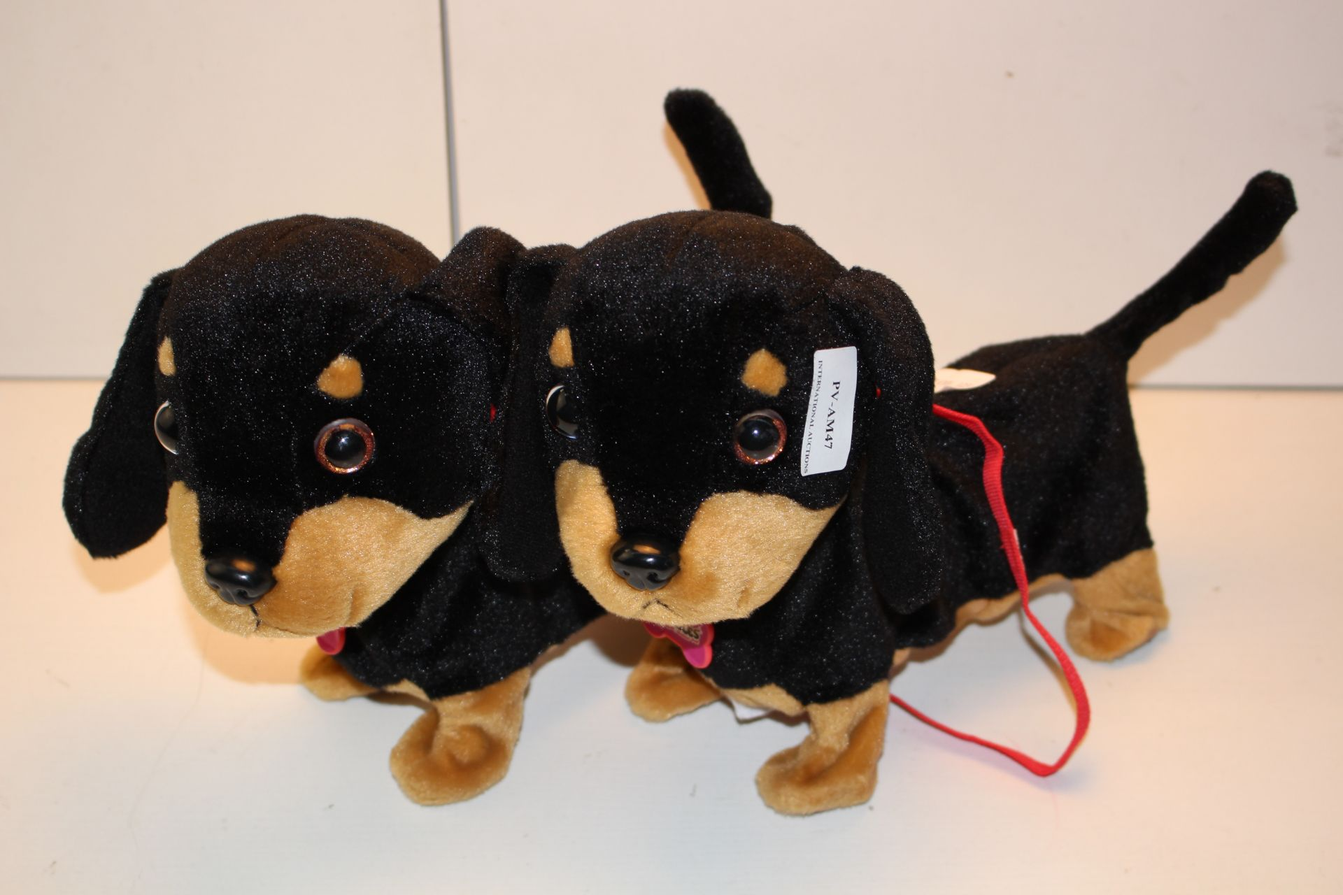 2X UNBOXED ANIMAGIC WAGGLES DOGS COMBINED RRP £60.00Condition ReportAppraisal Available on