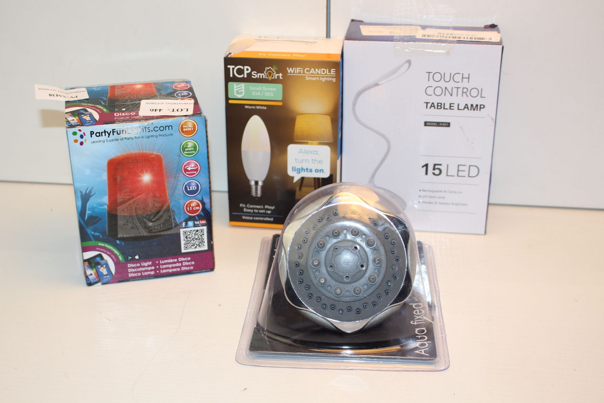 X4 HOME ITEMS INCLUDING LIGHTS, SIREN AND OTHER, PLEASEW USE IMAGE AS A GUIDECondition