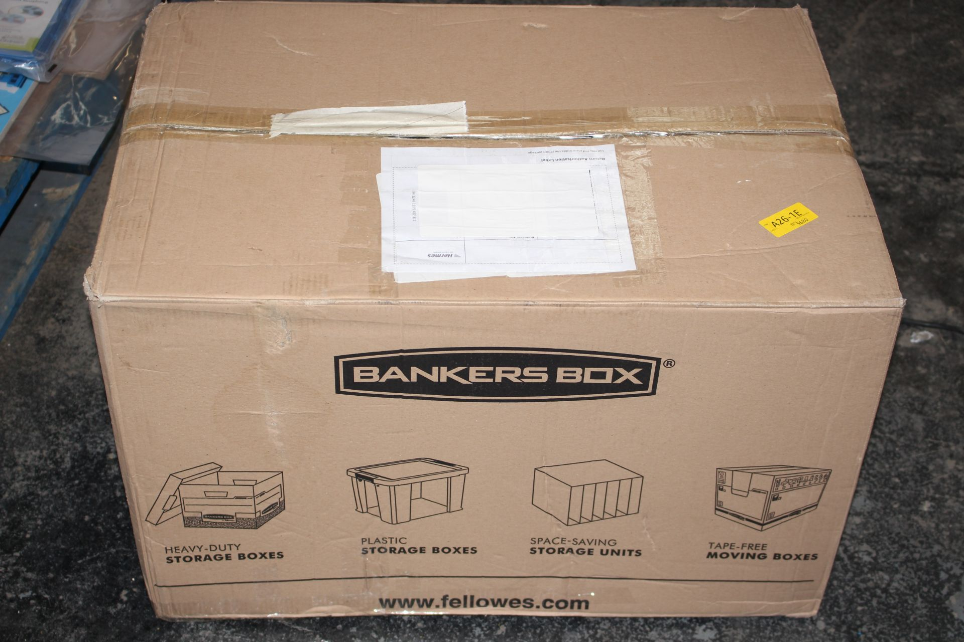 BOXED BANKERS BOX PRO STORE 85L RRP £44.00Condition ReportAppraisal Available on Request- All