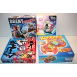 4X BOXED ASSORTED ITEMS TO INCLUDE KER-PLUNK, AGENT UNDERCOVER & OTHER (IMAGE DEPICTS STOCK)