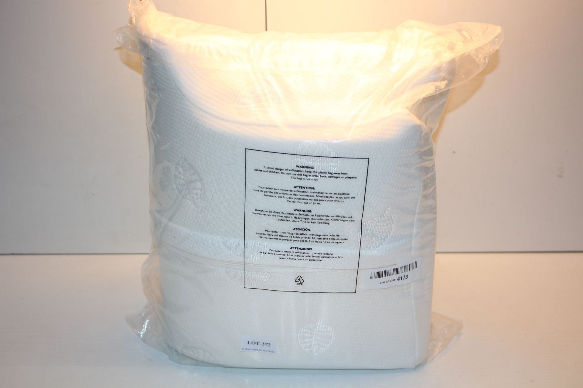 BAGGED ERGONOMIC PILLOW Condition ReportAppraisal Available on Request- All Items are Unchecked/