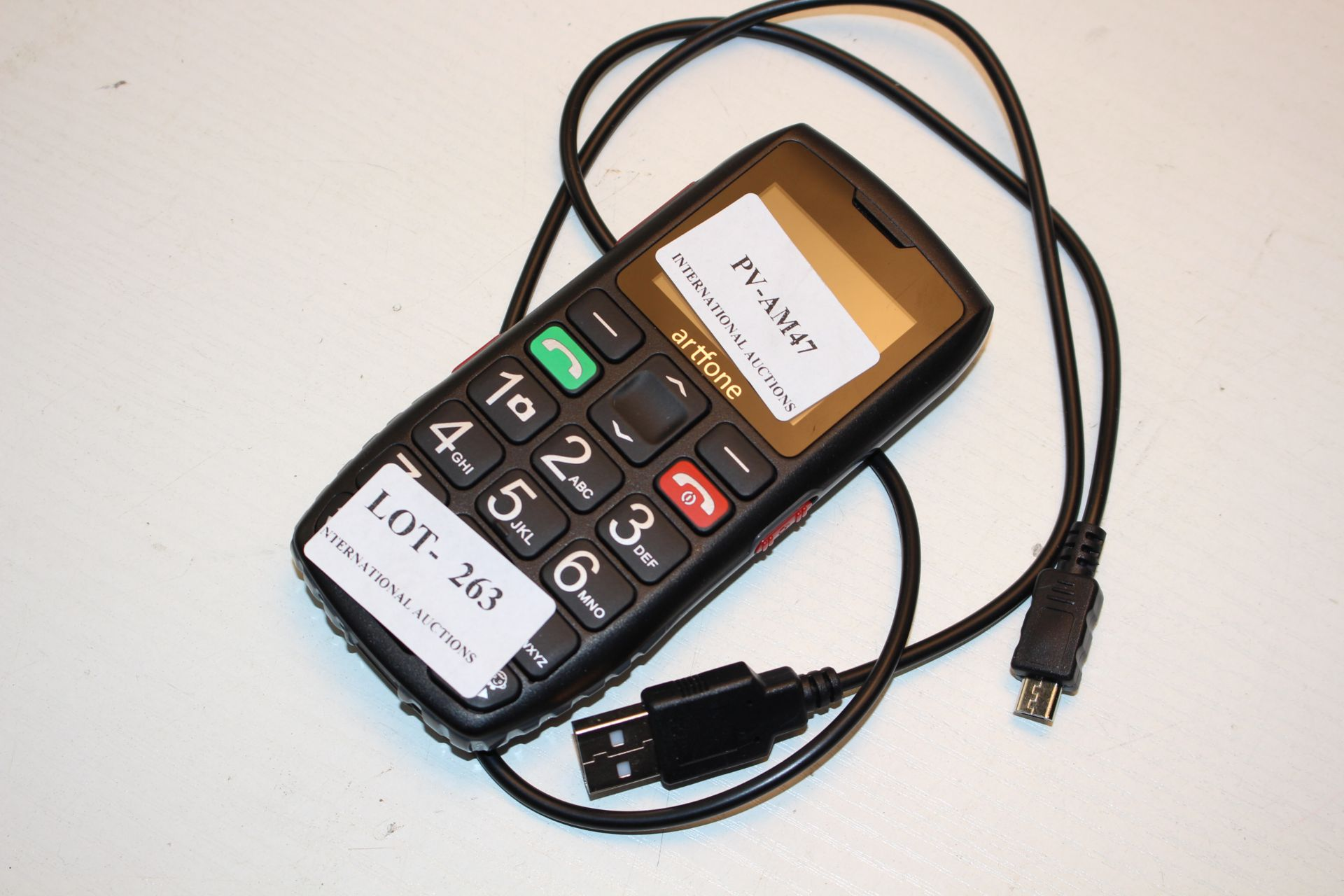 UNBOXED ARTFONE SENIOR SERIES MOBILECondition ReportAppraisal Available on Request- All Items are