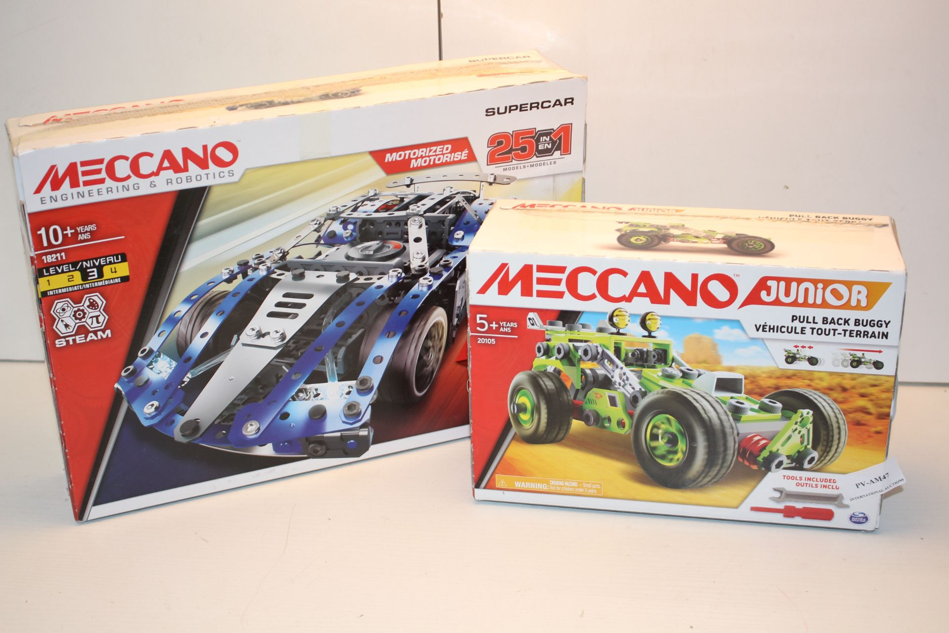 2X BOXED MECCANO SETS TO INCLUDE 20105 & 18211 COMBINED RRP £65.00Condition ReportAppraisal