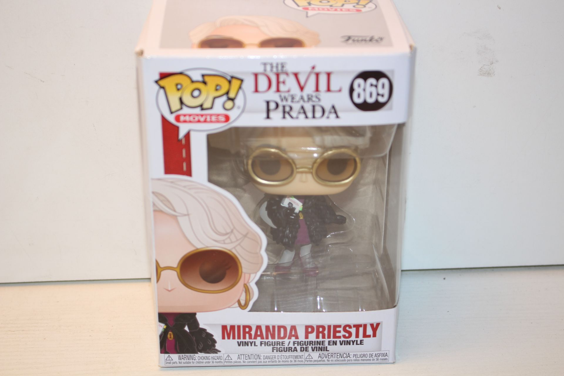 BOXED POP MOVIES THE DEVIL WEARS PRADA 869 RRP £12.99Condition ReportAppraisal Available on Request-