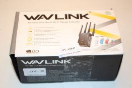 BOXED WAVLINK AC1200 DUAL BAND WIFI RANGE EXTENDER RRP £27.37Condition ReportAppraisal Available