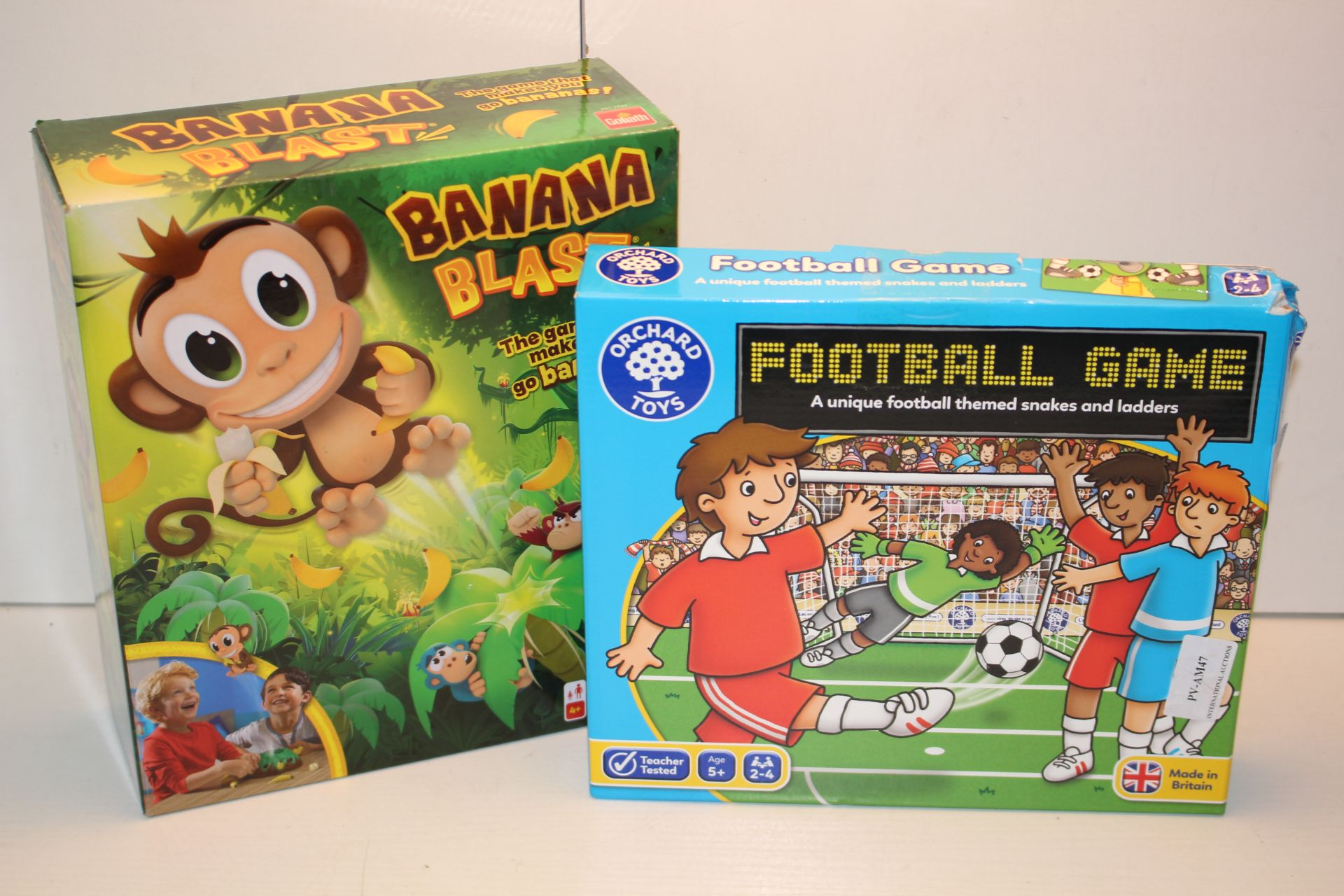 2X ASSORTED BOXED GAMES (IMAGE DEPICTS STOCK)Condition ReportAppraisal Available on Request- All