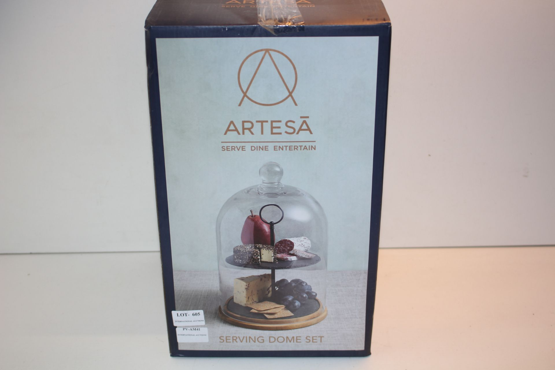 BOXED ARTESA SERVE DINE, SERVING DOMECondition ReportAppraisal Available on Request- All Items are