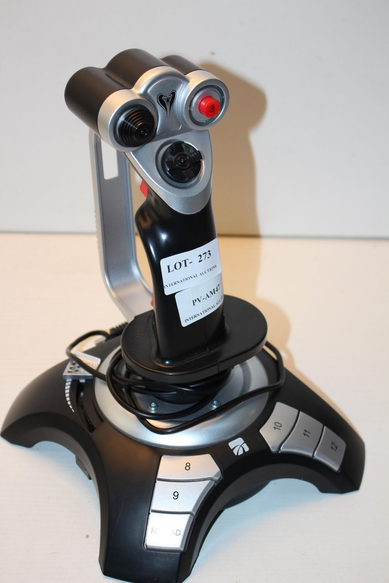UNBOXED COBRA JOYSTICK Condition ReportAppraisal Available on Request- All Items are Unchecked/