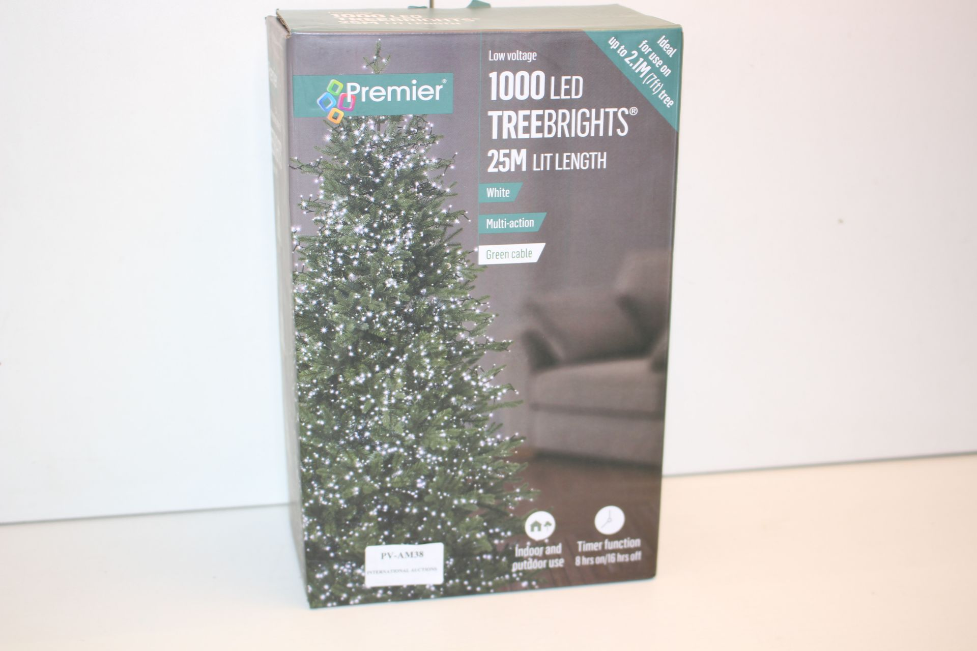 BOXED PREWMIEWR 1000 LED 25M LIGHTS Condition ReportAppraisal Available on Request- All Items are