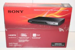 BOXED SONY DVD PLAYER DVP-SR760H RRP £34.00Condition ReportAppraisal Available on Request- All Items