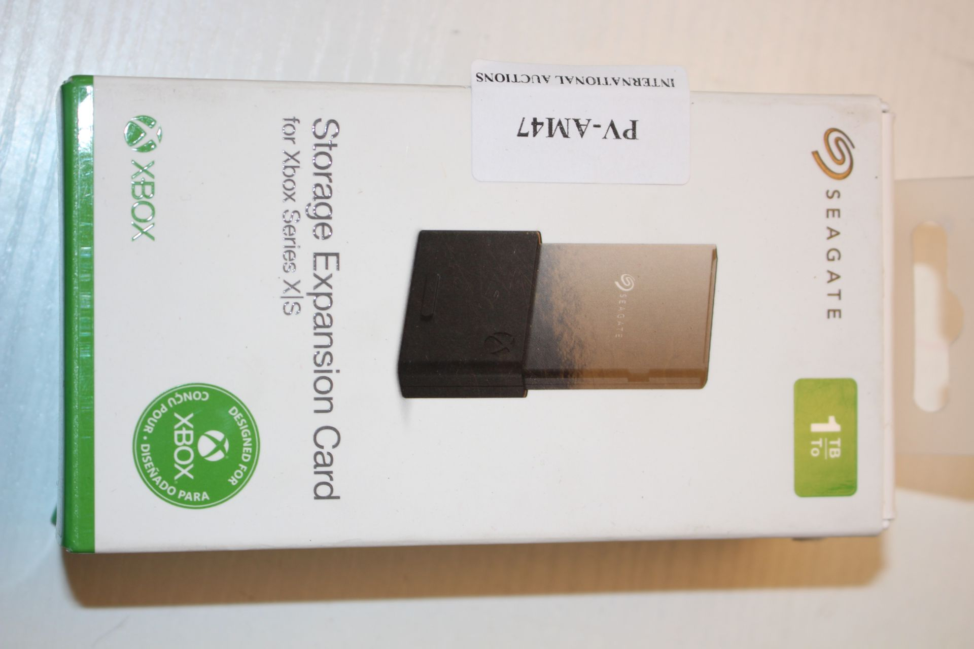 BOXED SEAGATE STORAGE EXPANSION CARD FOR XBOX SERIES X/S 1TBCondition ReportAppraisal Available on