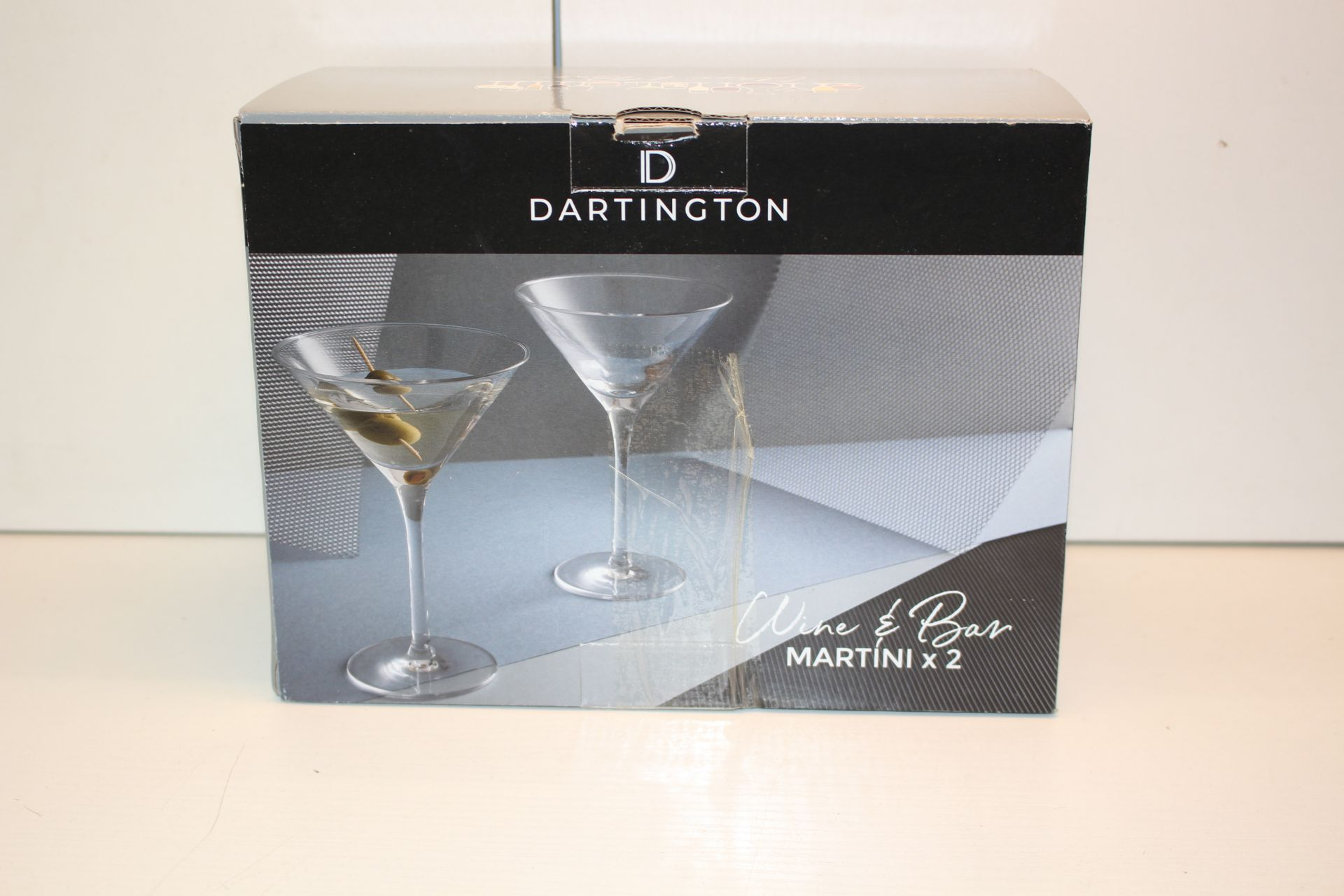 BOXED DARLINGTON MARTINI GLASSESCondition ReportAppraisal Available on Request- All Items are