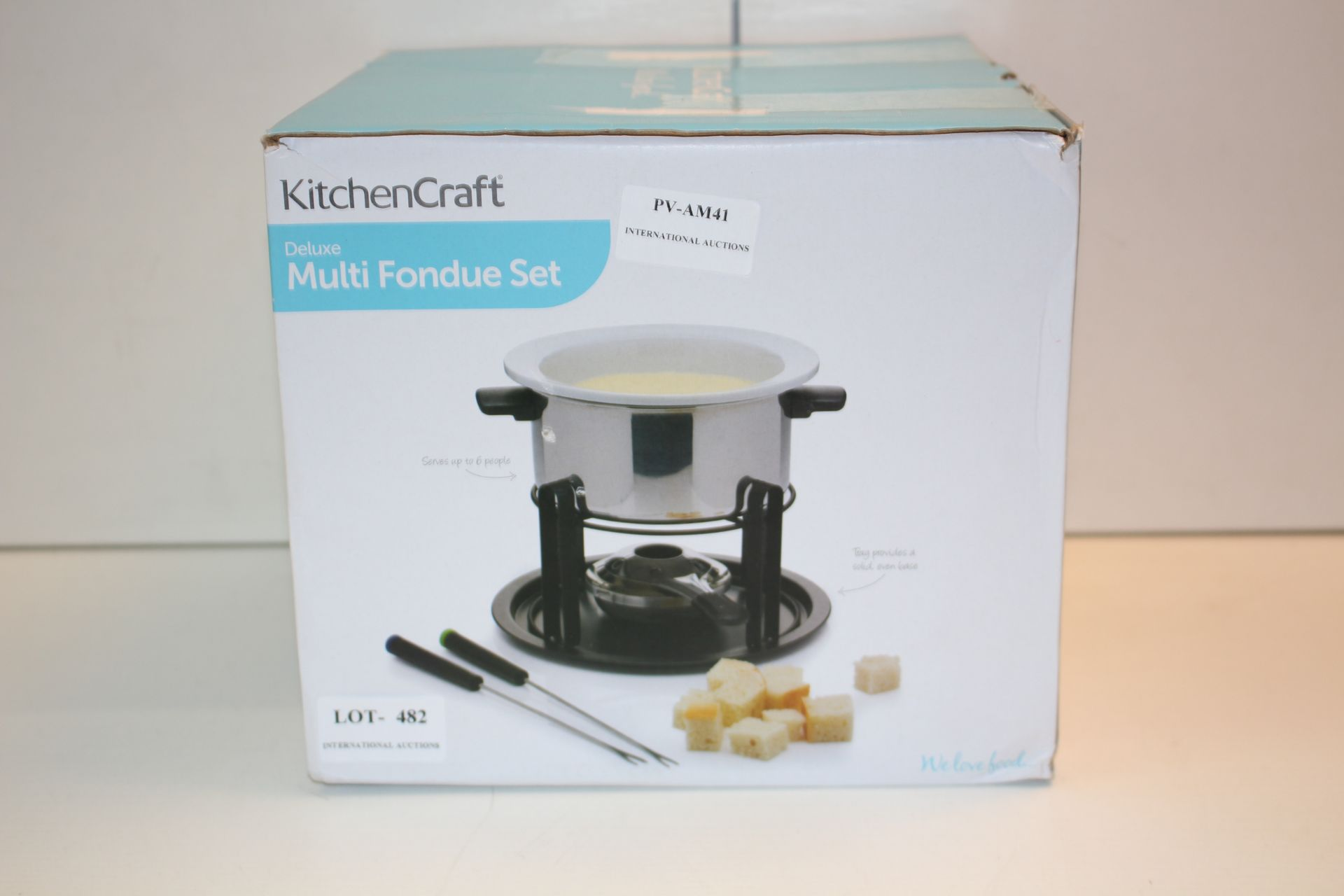 BOXED KITCHEN KRAFT DELUXE MULTI FONDUE SETCondition ReportAppraisal Available on Request- All Items