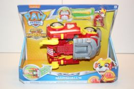 BOXED PAW PATROL MARSHALL'S POWERED UP FIRETRUCK Condition ReportAppraisal Available on Request- All