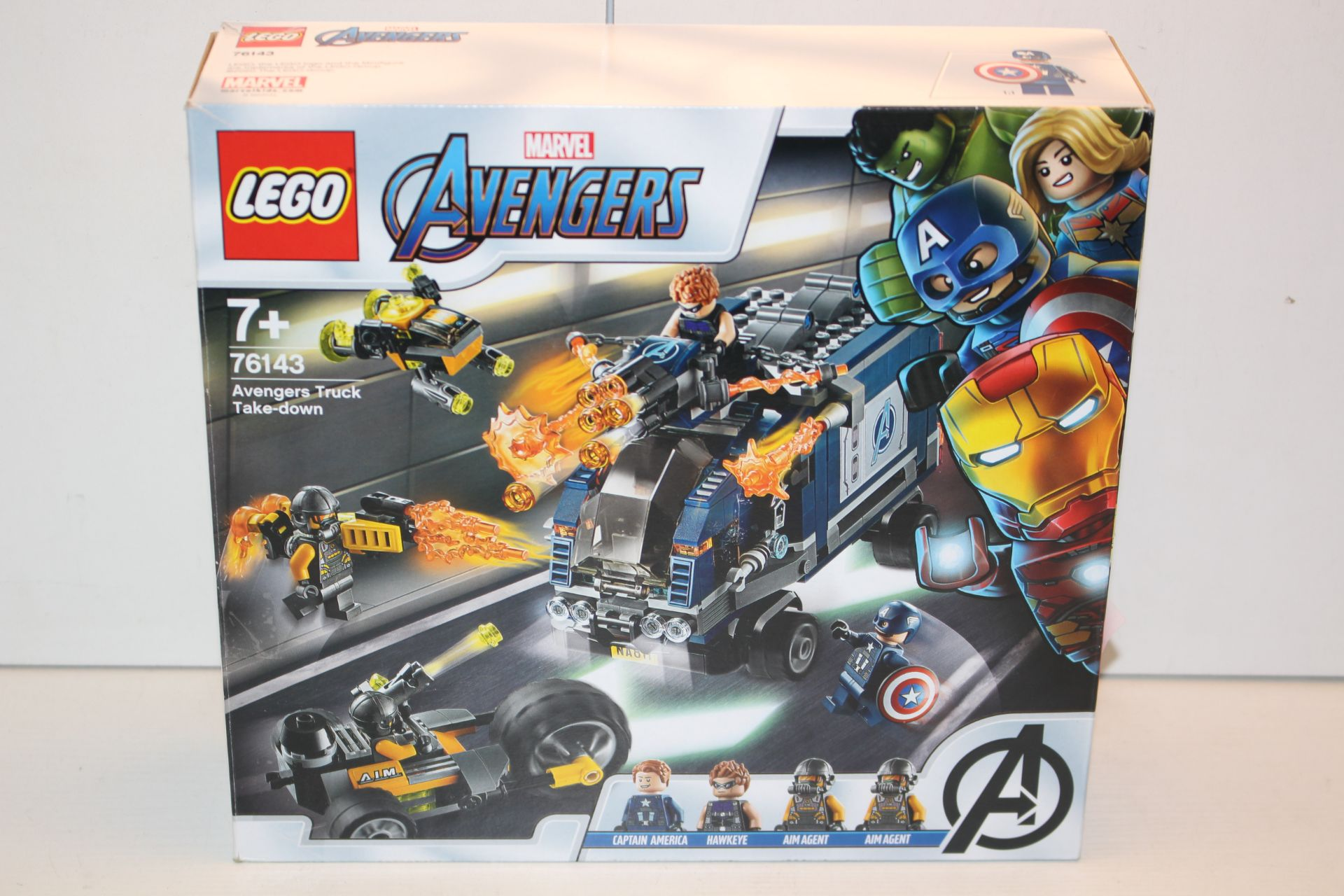 BOXED LEGO MARVEL AVENGERS 76143 RRP £34.99Condition ReportAppraisal Available on Request- All Items