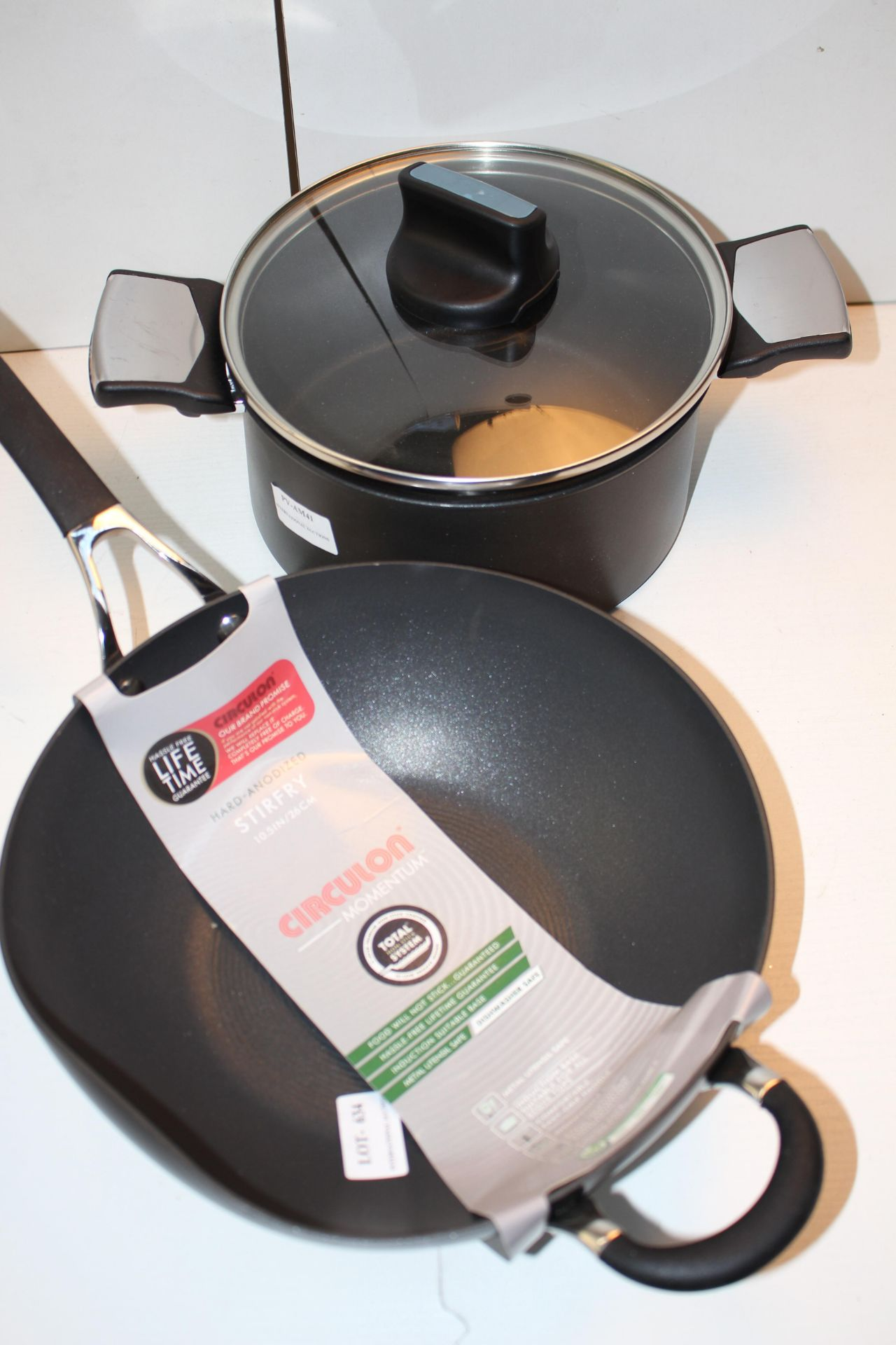 X2 PANS AND FRYING PANSCondition ReportAppraisal Available on Request- All Items are Unchecked/