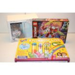 3X ASSORTED BOXED ITEMS TO INCLUDE LEGO, GALT RAINBOW LAB & OTHER (IMAGE DEPICTS STOCK)Condition