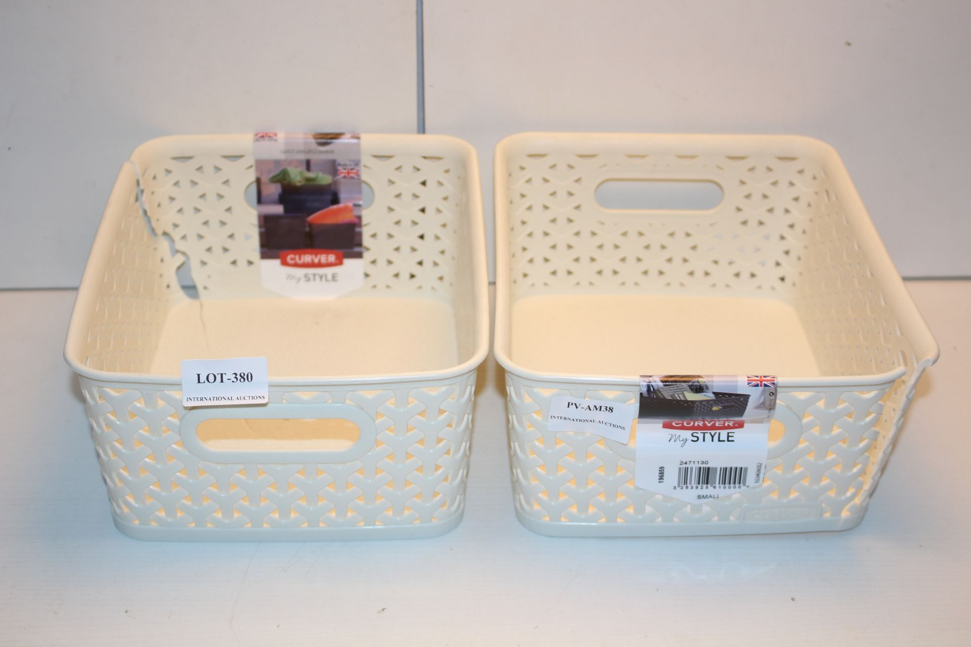 2X CURVER MY STYLE BASKETS Condition ReportAppraisal Available on Request- All Items are Unchecked/