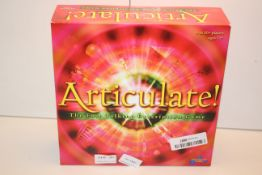 BOXED ARTICULATE! THE FAST TALKING DESCRIPTION GAME Condition ReportAppraisal Available on