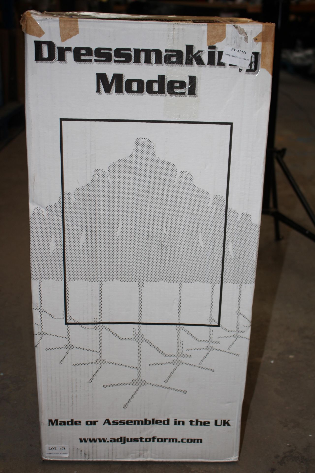 BOXED DRESS MAKING MODEL Condition ReportAppraisal Available on Request- All Items are Unchecked/