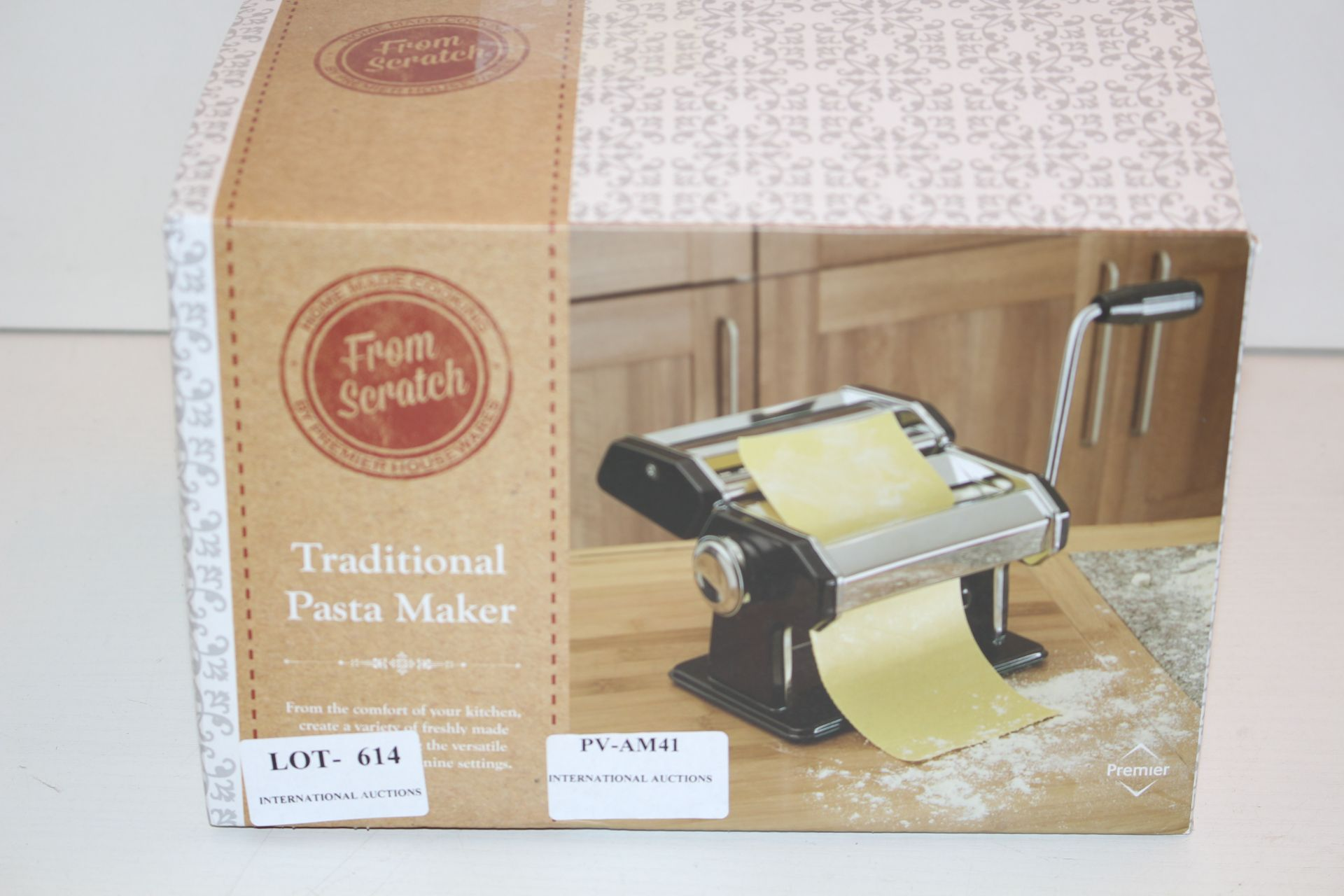 BOXED TRADITIONAL PASTA MAKERCondition ReportAppraisal Available on Request- All Items are