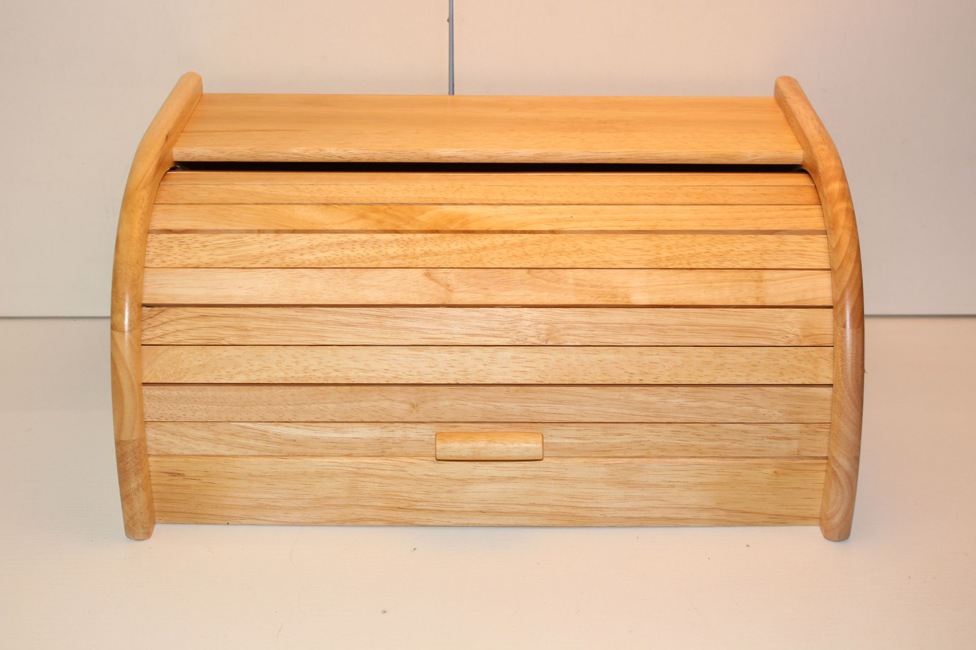 UNBOXED APOLLO WOODEN BREADBINCondition ReportAppraisal Available on Request- All Items are