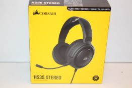 BOXED CORSAIR HS35 STEREO GAMING HEADSET RRP £39.99Condition ReportAppraisal Available on Request-