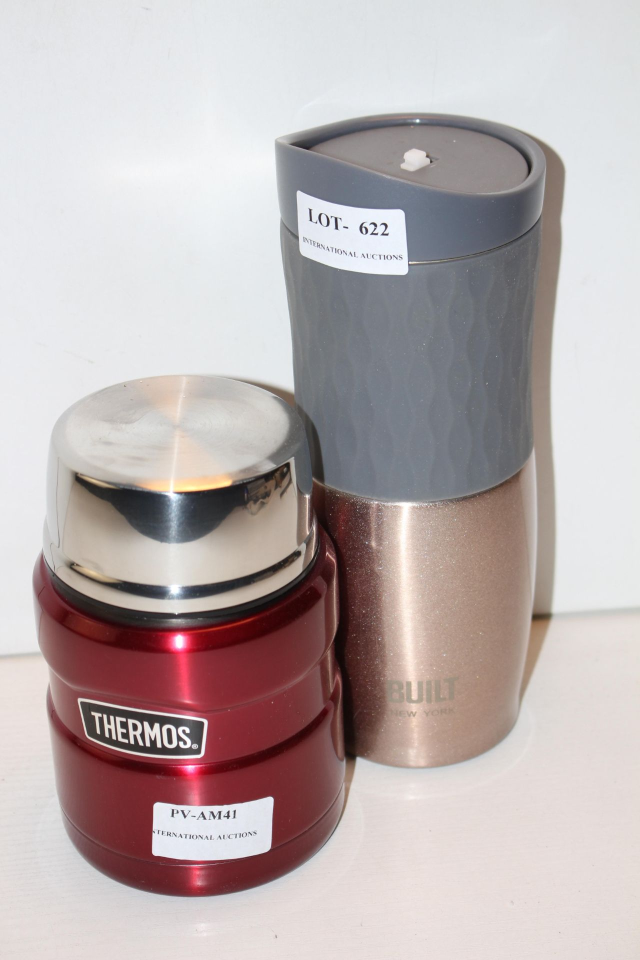 X2 THERMOS FLASKSCondition ReportAppraisal Available on Request- All Items are Unchecked/Untested