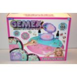 BOXED GEMEX DELUXE CREATION STATION RRP £30.00Condition ReportAppraisal Available on Request- All