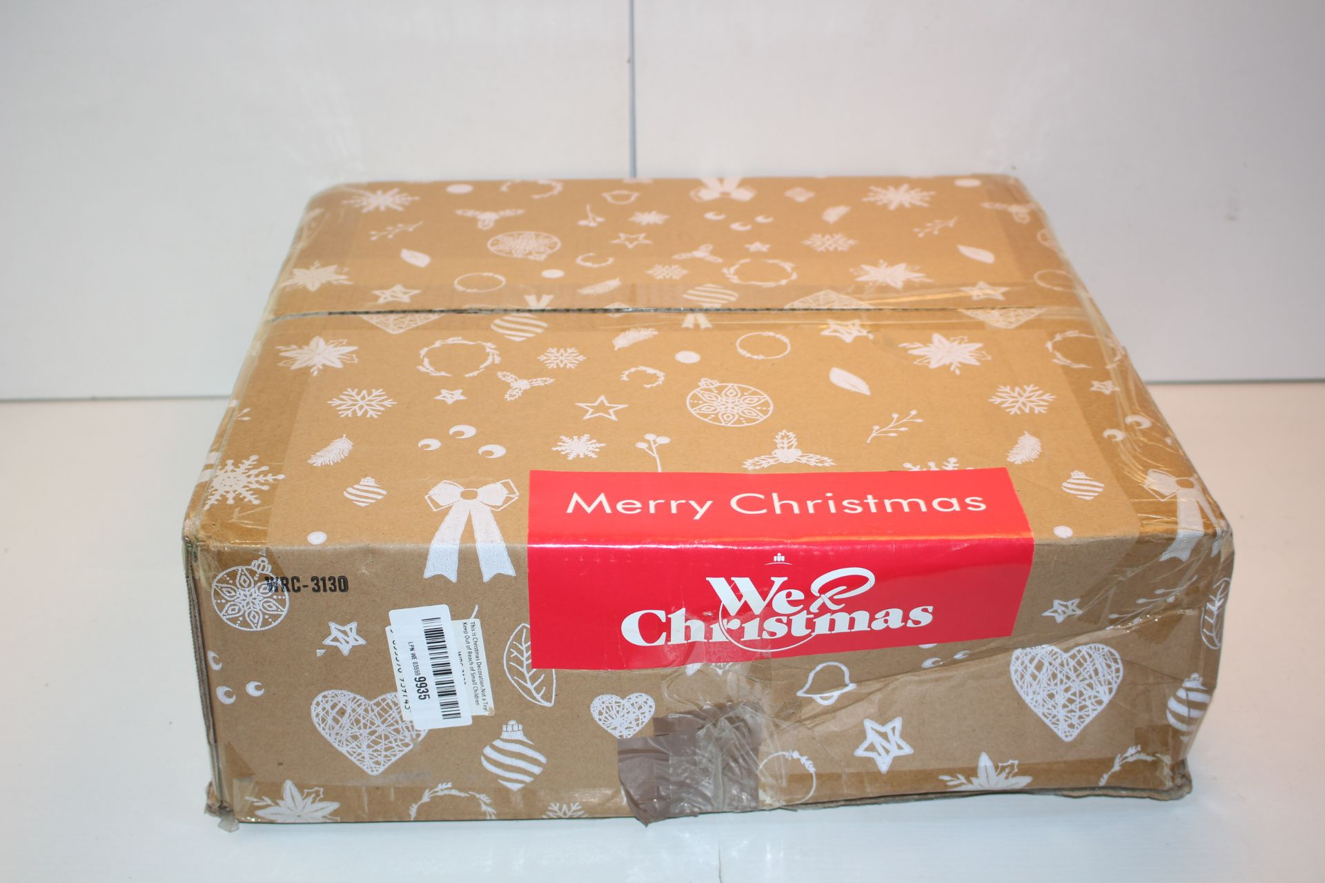 BOXED WRC3130B WE CHRISTMAS DECORATIONCondition ReportAppraisal Available on Request- All Items