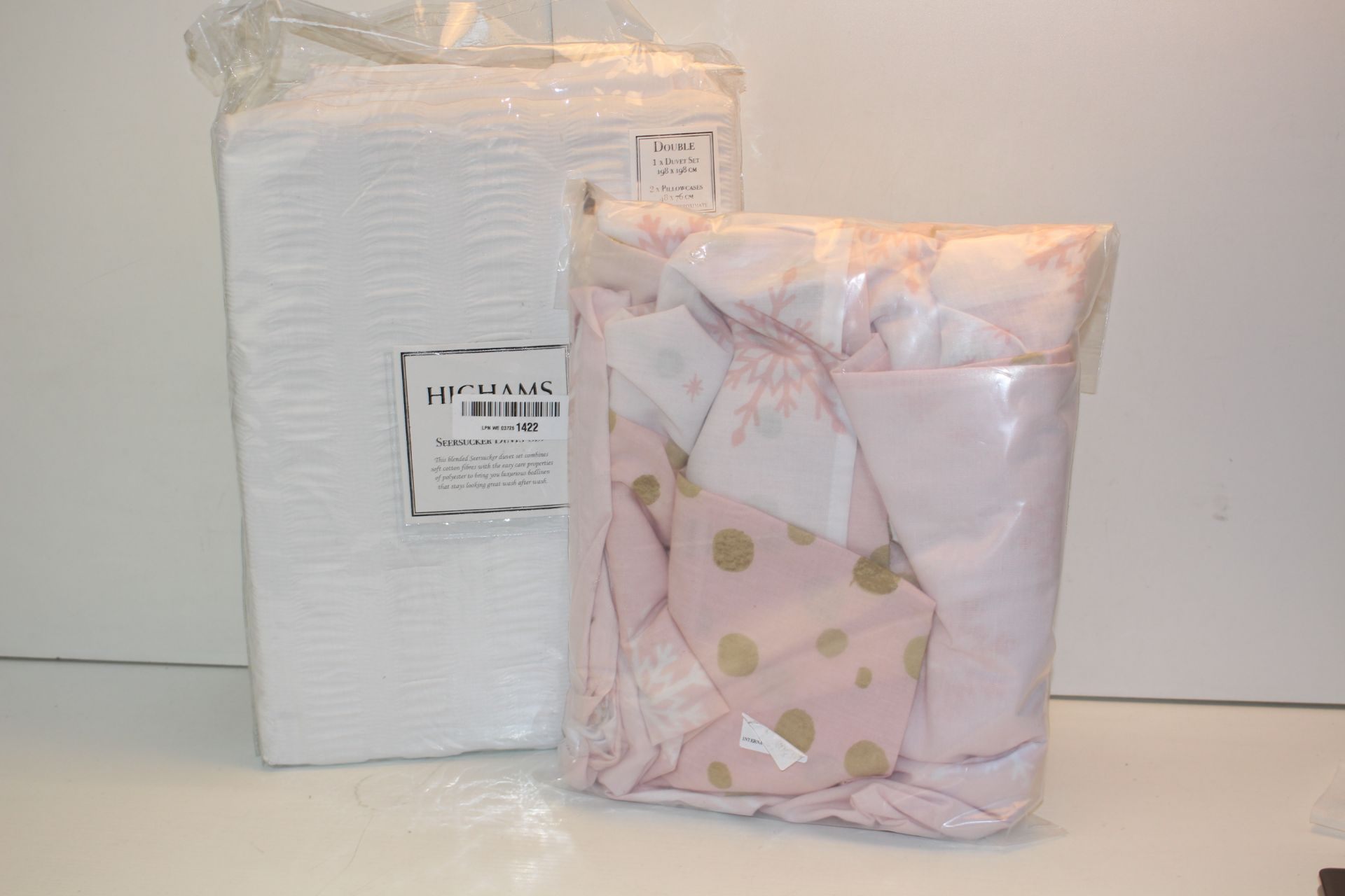 X2 BEDDING SETS, DUVET SETS Condition ReportAppraisal Available on Request- All Items are