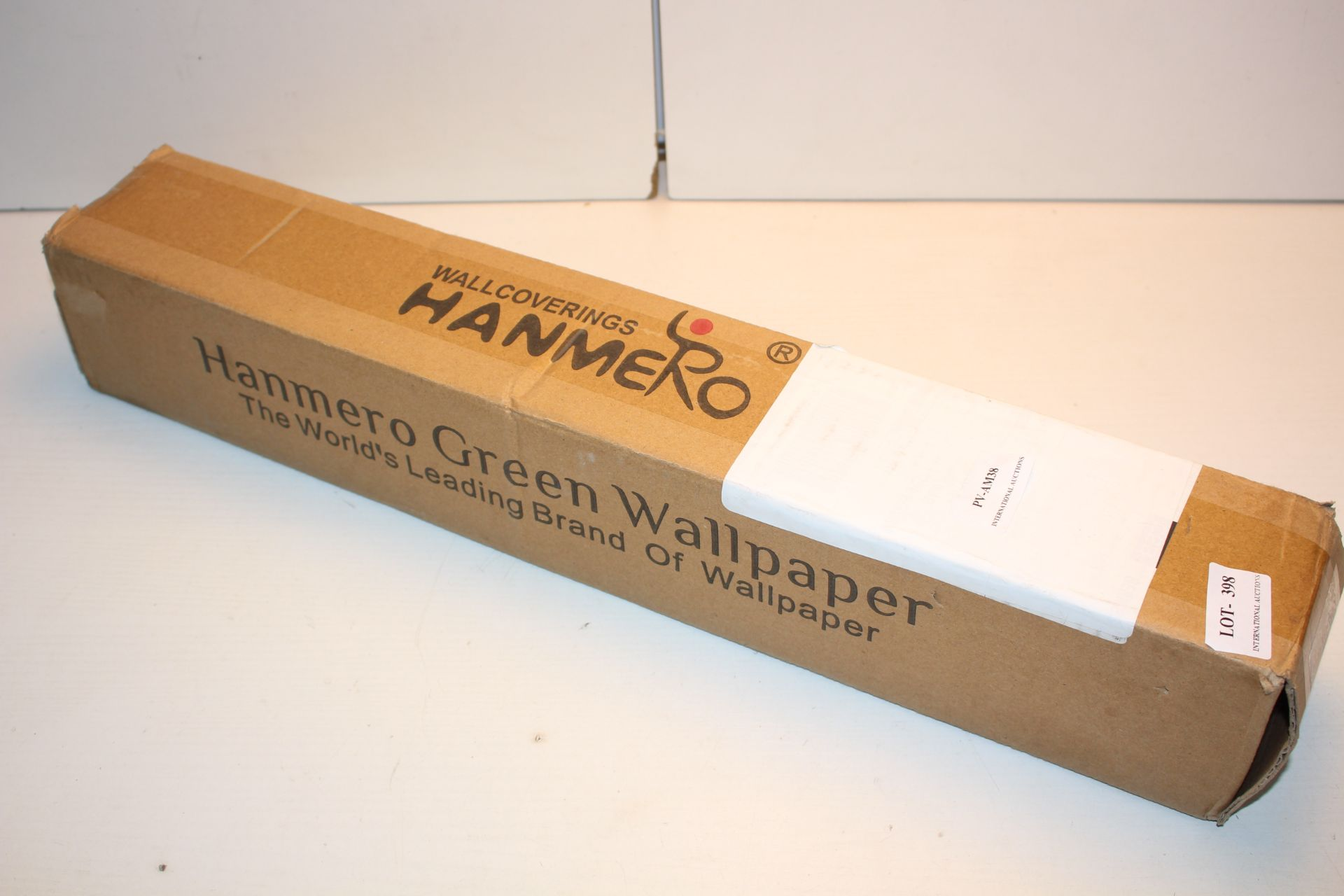 BOXED HANMERO GREEN WALLPAPER Condition ReportAppraisal Available on Request- All Items are
