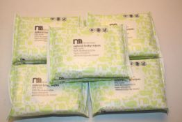 20X PACKS MOTHERCARE ALL WE KNOW NATURAL BABY WIPES (2X BOXES)Condition ReportAppraisal Available on
