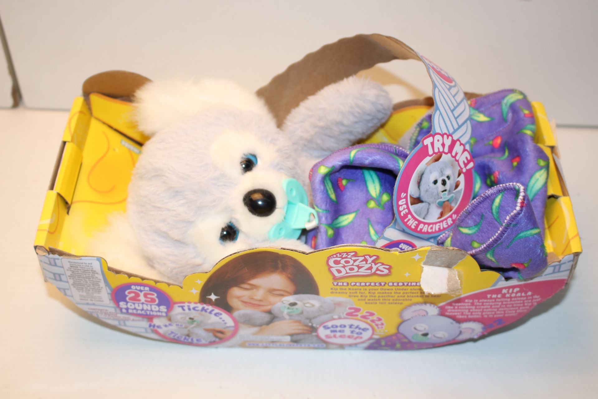 BOXED COZY DOZY'S KIP THE KOALA!Condition ReportAppraisal Available on Request- All Items are
