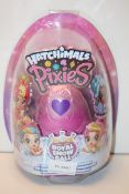 BOXED HATCHIMALS PIXIES ROYAL SNOW BALL Condition ReportAppraisal Available on Request- All Items