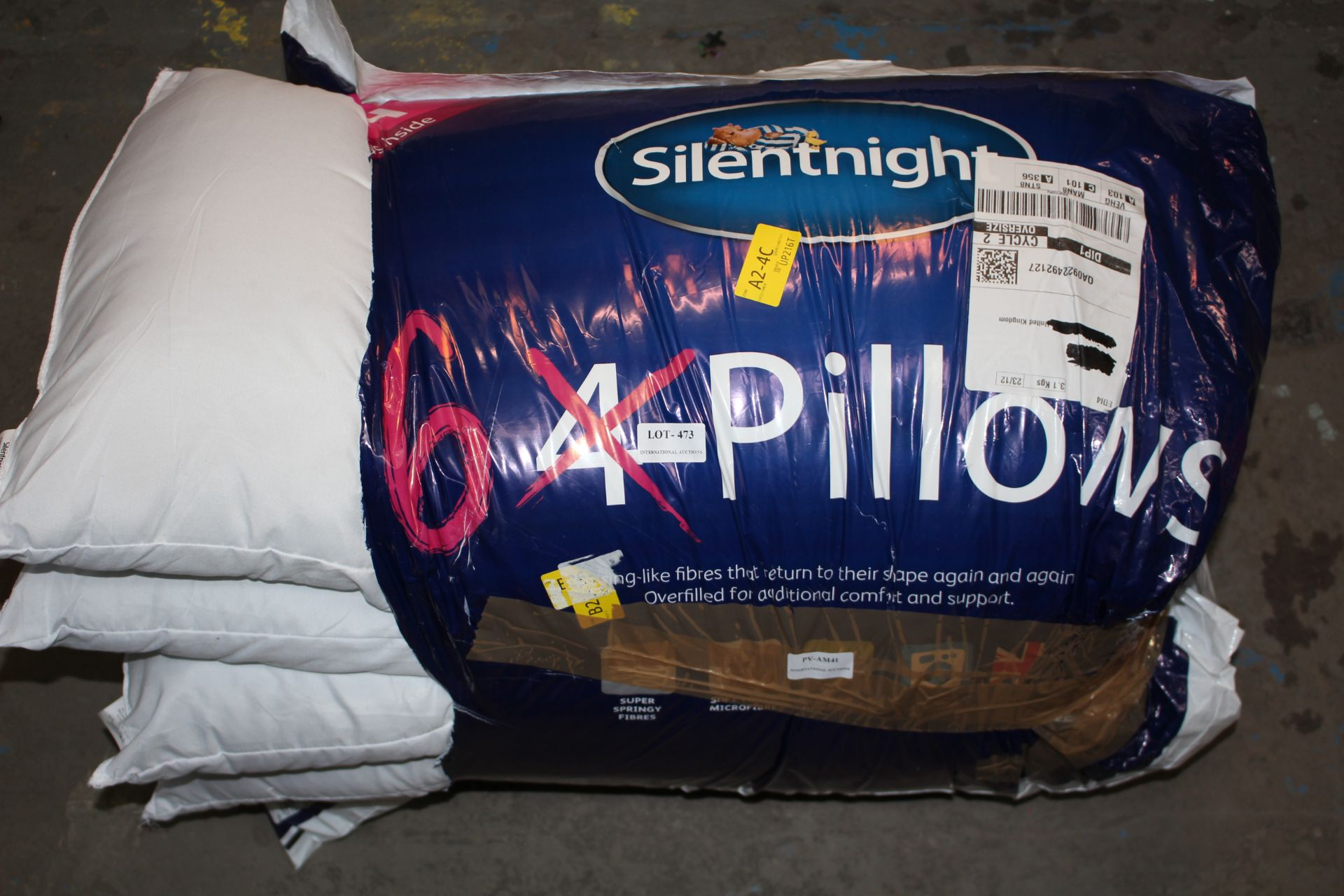 SILENTKNIGHT 6 BOUNCE PILLOWSCondition ReportAppraisal Available on Request- All Items are