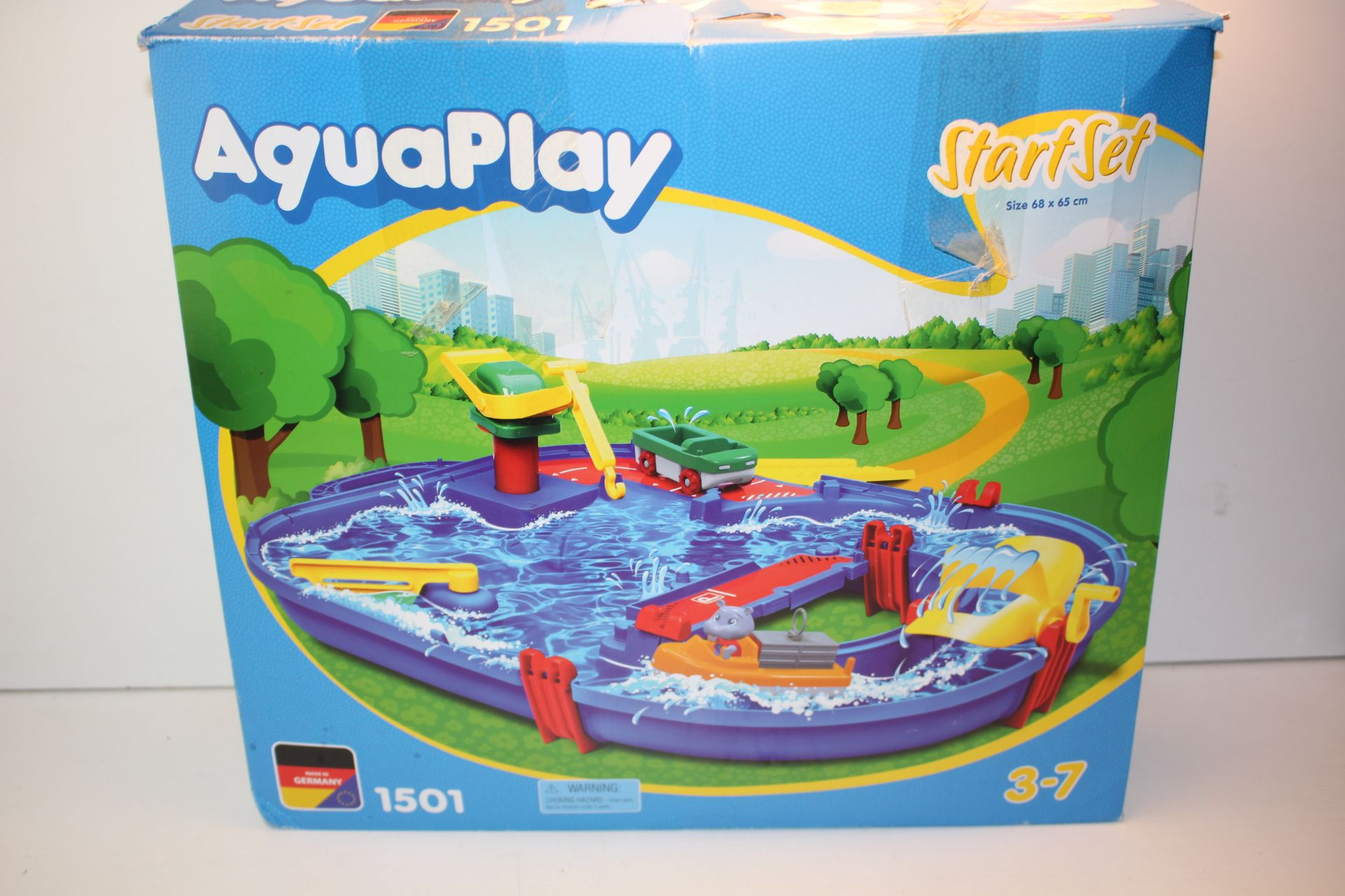 BOXED AQUAPLAY STARTER SET 1501Condition ReportAppraisal Available on Request- All Items are