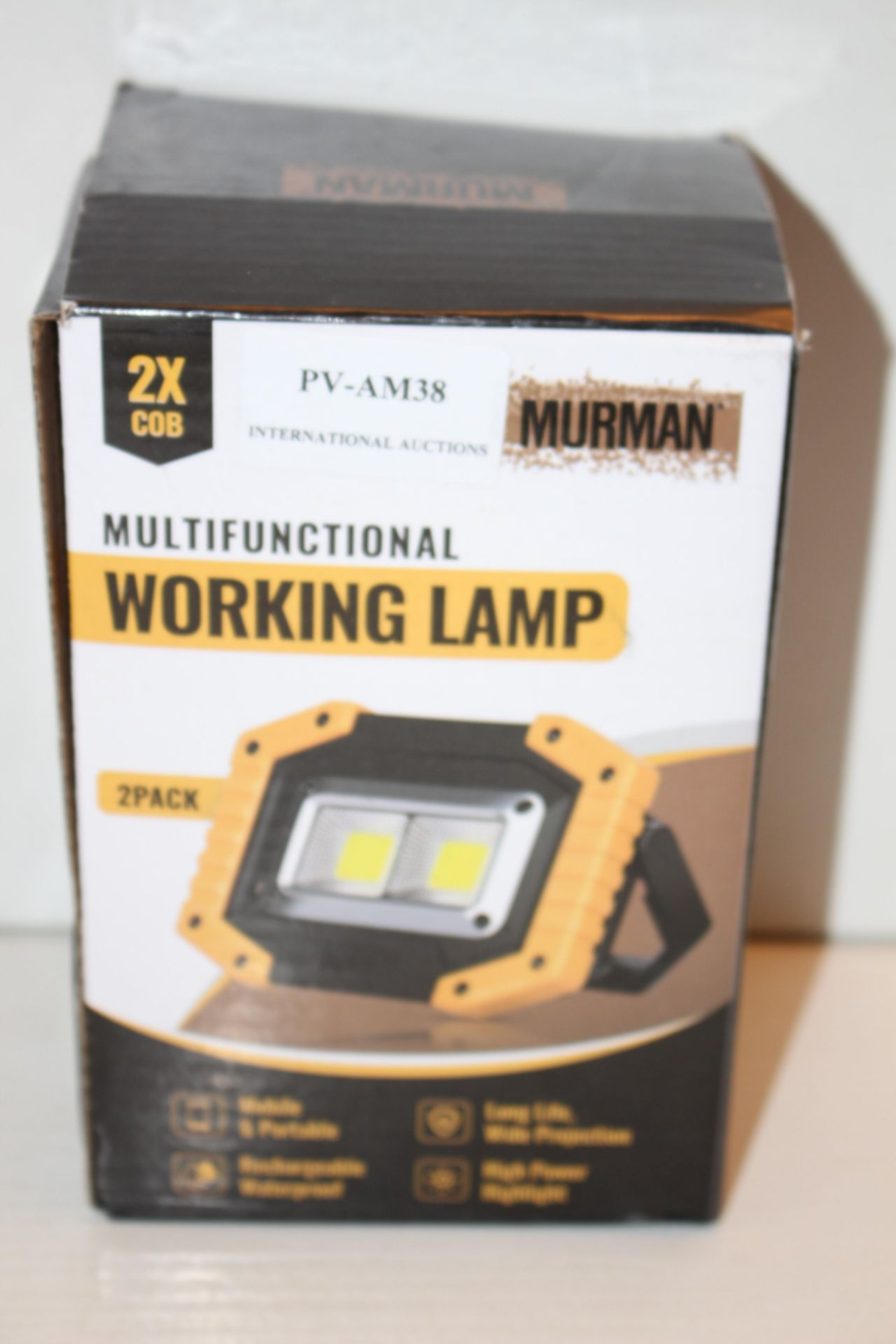 BOXED MURMAN WORKING LAMPCondition ReportAppraisal Available on Request- All Items are Unchecked/