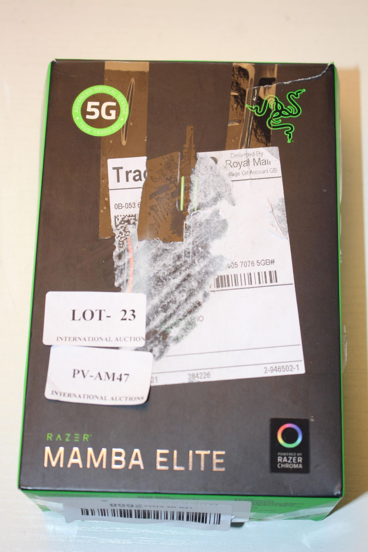 BOXED RAZER MAMBA ELITE GAMING MOUSE RRP £99.00Condition ReportAppraisal Available on Request- All