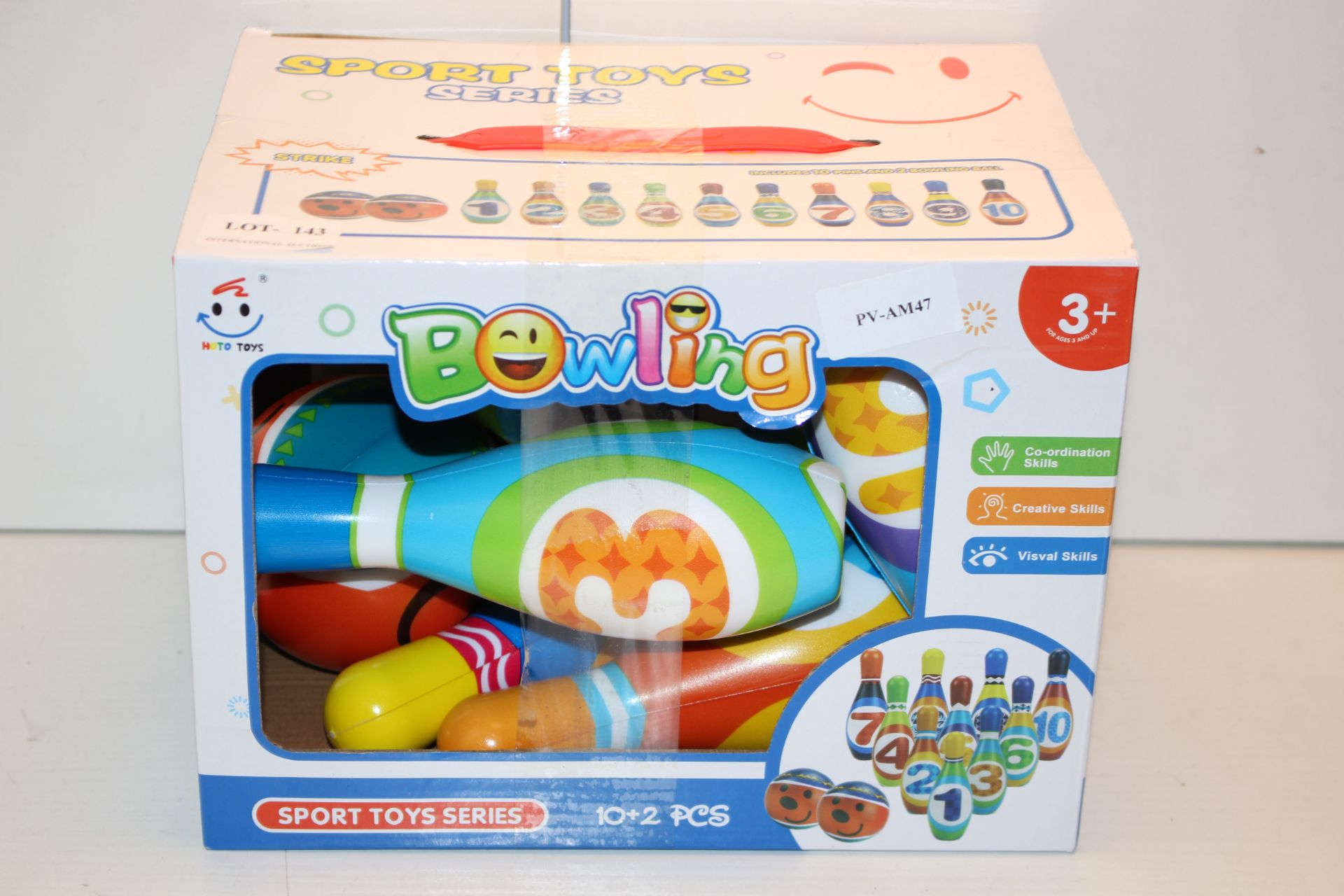 BOXED SPORT TOYS SERIES - BOWLING Condition ReportAppraisal Available on Request- All Items are