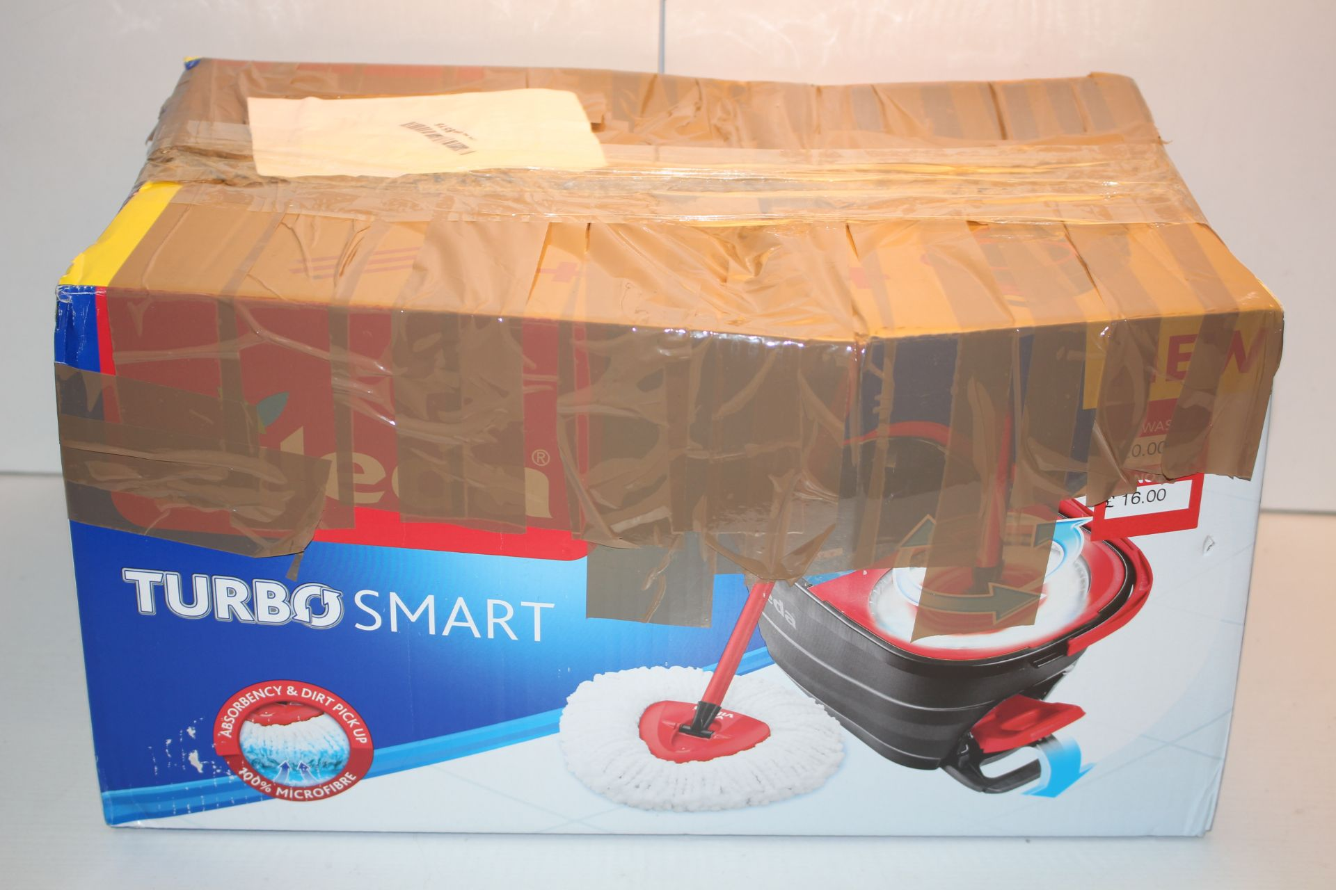 BOXED VILEDA TURBO SMART CLEANING SYSTEM RRP £24.99Condition ReportAppraisal Available on Request-