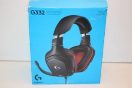 BOXED LOGITECH G332 STEREO GAMING HEADSET RRP £50.00Condition ReportAppraisal Available on