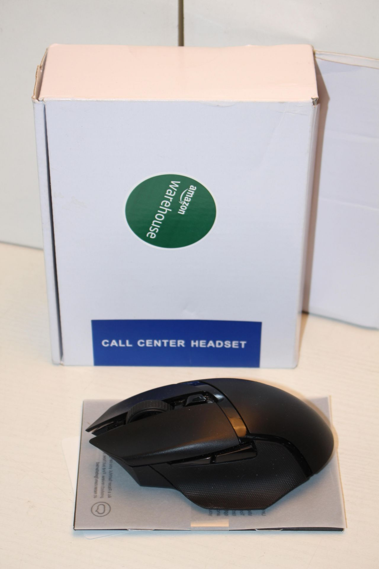 2X ASSORTED ITEMS TO INCLUDE RAZER GAMING MOUSE & OTHER (IMAGE DEPICTS STOCK)Condition