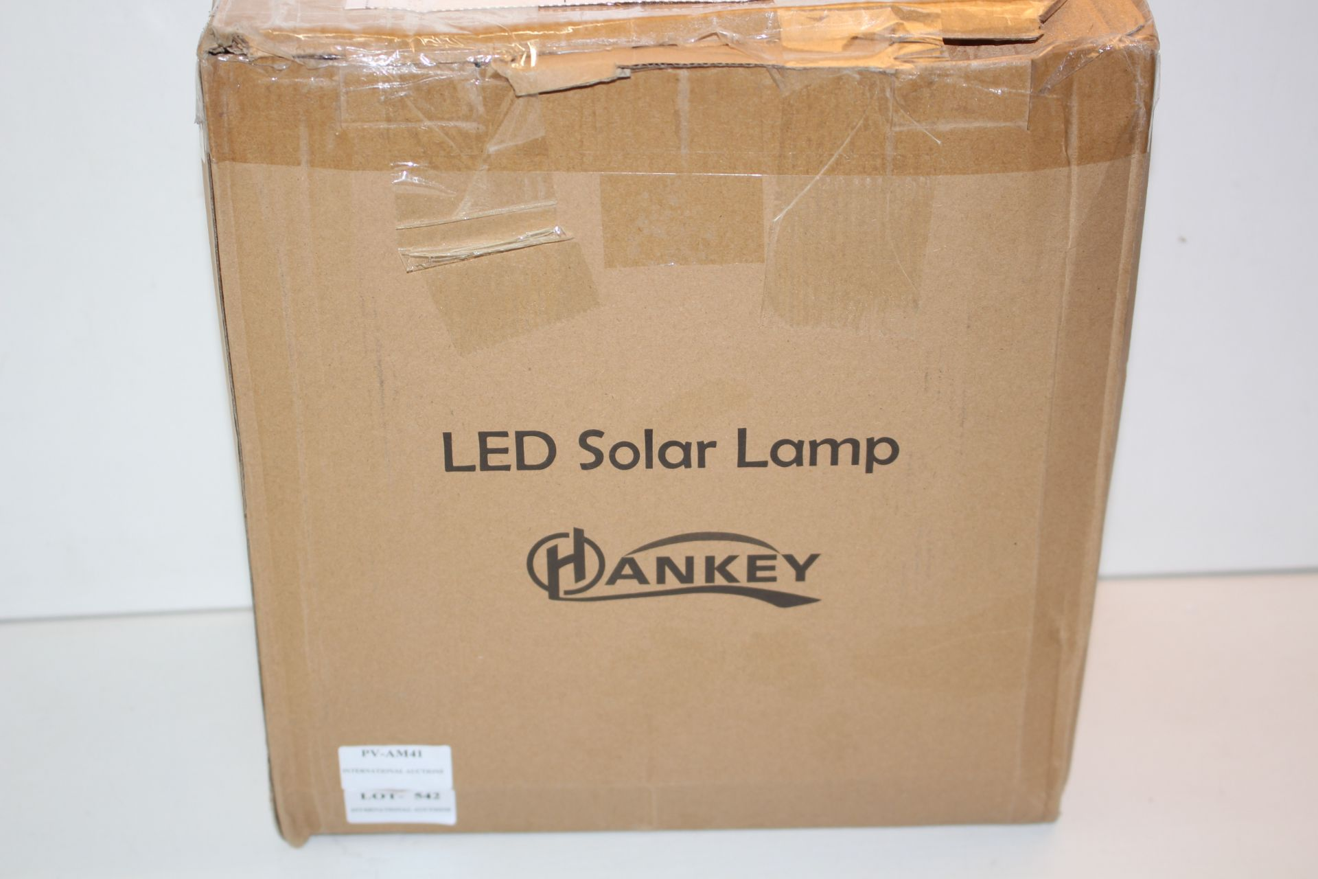 BOXED HANKEY LED SOLAR LAMPCondition ReportAppraisal Available on Request- All Items are Unchecked/
