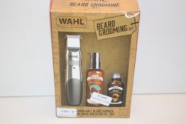BOXED WAHL BEARD GROOMING SET RECHARGEABLE BEARD TRIMMER BEARD WASH AND BEARD OIL TRIO RRP £34.