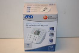 BOXED A&D BLOOD PRESSURE MONITOR MODEL: UA-611 RRP £20.00Condition ReportAppraisal Available on