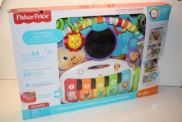 BOXED FISHER PRICE BABY ACTIVITY & MUSIC CENTRE RRP £45.99Condition ReportAppraisal Available on
